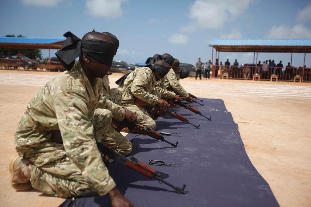Armée Somalienne / Military of Somalia - Page 2 Training