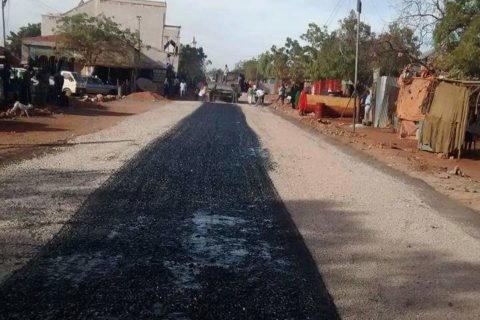tarmac road