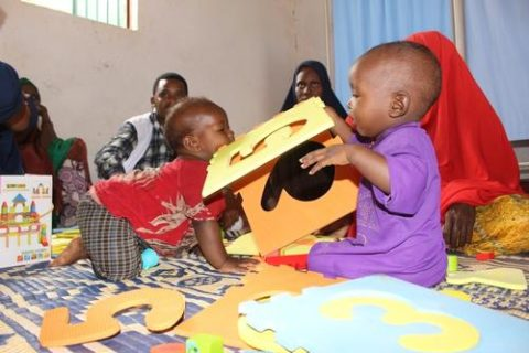 Play is an important way to help children overcome the trauma they have experienced. Photo: Philippe Carr/MSF