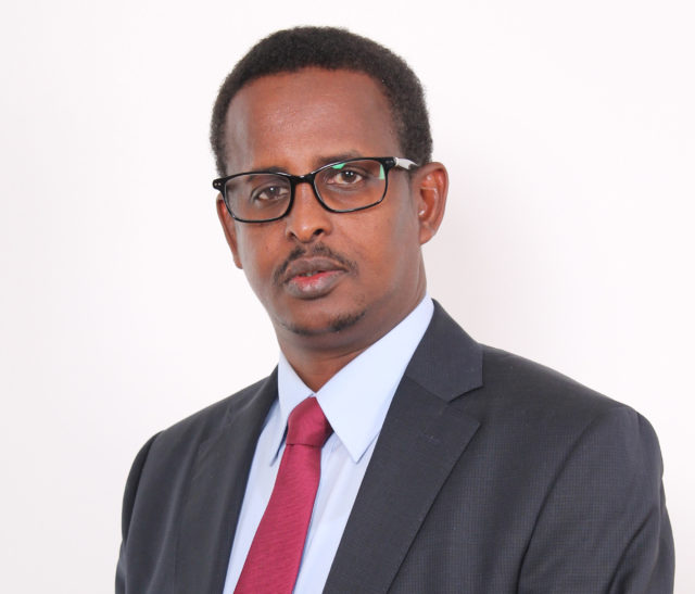 Goobjoog Media Group CEO Abshir Axmad ends his four year stint as head of the Mogadishu based multimedia company. His decision is based on need to concentrate of the new senatorial role. File Photo: Goobjoog News