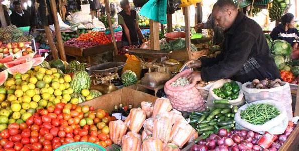 Food market in Tanzania. Photo: East African
