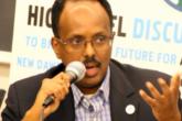 Somalia's ninth president Mohamed Abdullahi Farmaajo.