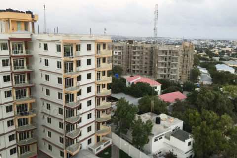 Safari Apartments in Mogadishu among the upcoming real estate ventures coming up in Mogadishu. File Photo: Goobjoog News