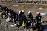 Women and children wait to be registered prior to a food distribution carried out by the United Nations World Food Programme (WFP) in Thonyor, Leer state, South Sudan, February 26, 2017. REUTERS/Siegfried Modola