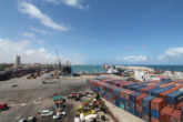 A section of the port of Mogadishu is seen in this picture. The FGC has advised the government to source for increased direct donor financing to support among others infrastructure development. File Photo: Albayrak Handout
