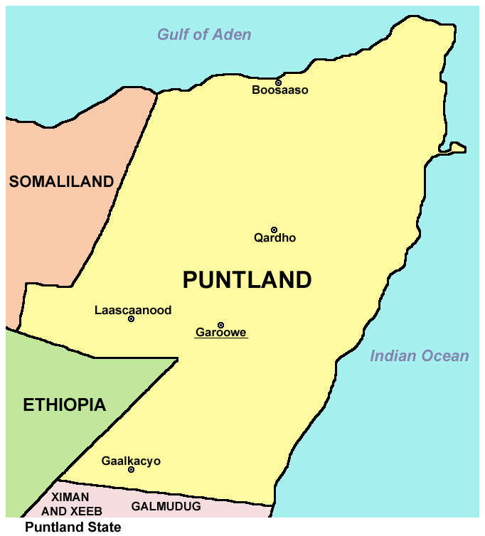 Puntland security conduct manhunt operation in Bosaso town