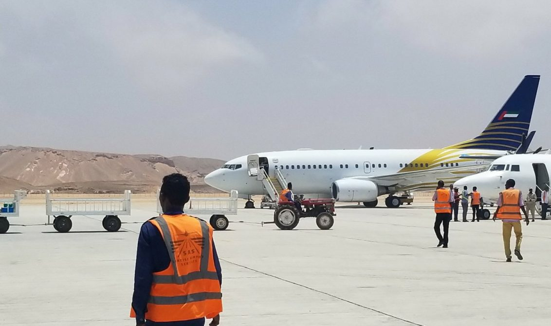 UAE aircraft cleared to leave after row with Bosaso airport