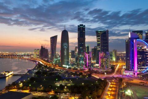 Qatar-Doha-City-Skyline