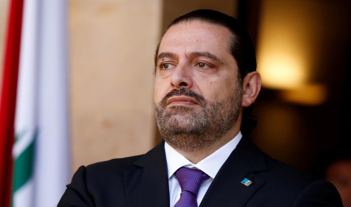 Lebanon's Prime Minister Saad al-Hariri is seen at the governmental palace in Beirut, Lebanon October 24, 2017.  REUTERS/Mohamed Azakir