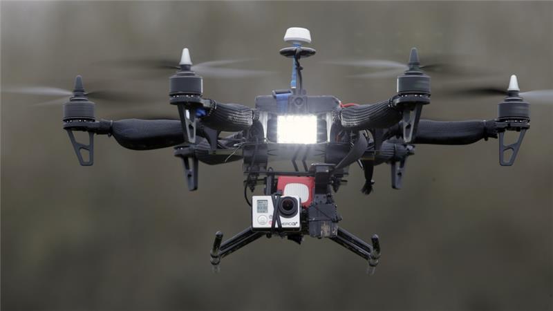 drone armée