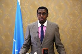 The Minister of Interior and National Security of the federal government of Somalia, Mohamed Abukar Islow Duale