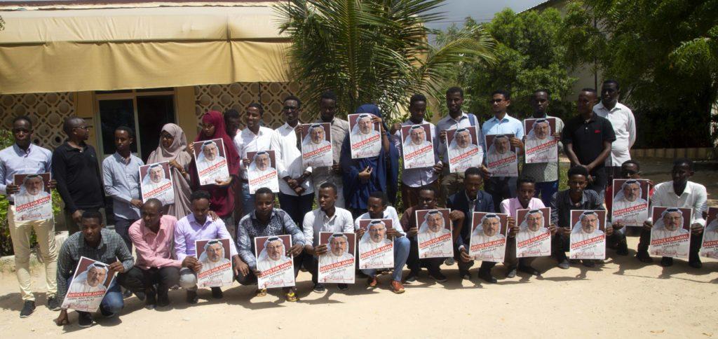 Goobjoog Media Group: Waxaan Cadaalad u Raadineynaa Weriye Jamaal Khashoggi, Sawirro