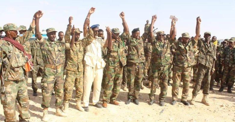 Ciidamo Kale Oo Ka Soo Goostay Somaliland